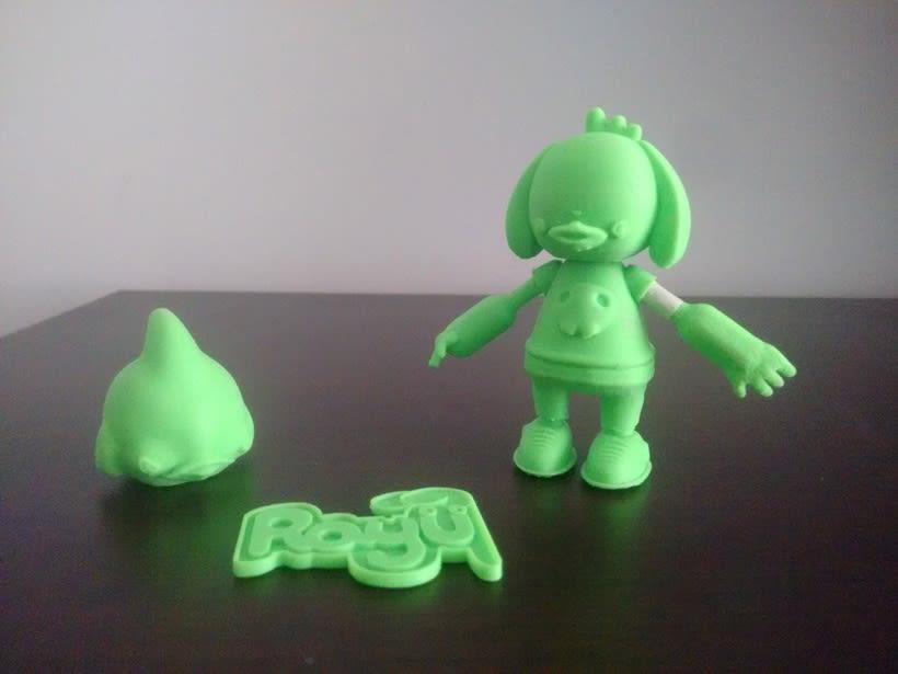 Mi Proyecto del curso: Diseño de personajes en Cinema 4D: del boceto a la impresión 3D 8