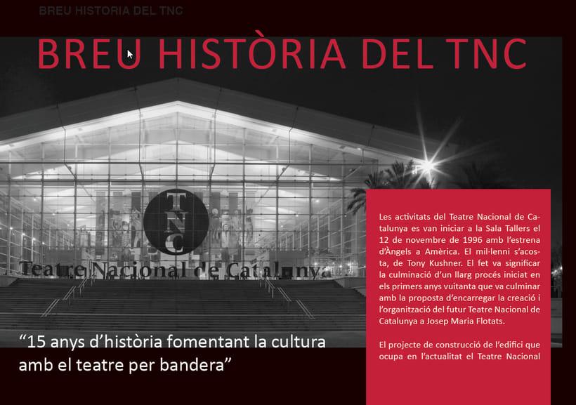 Maquetación/ Indesign/ Teatre LLiure libreto 3