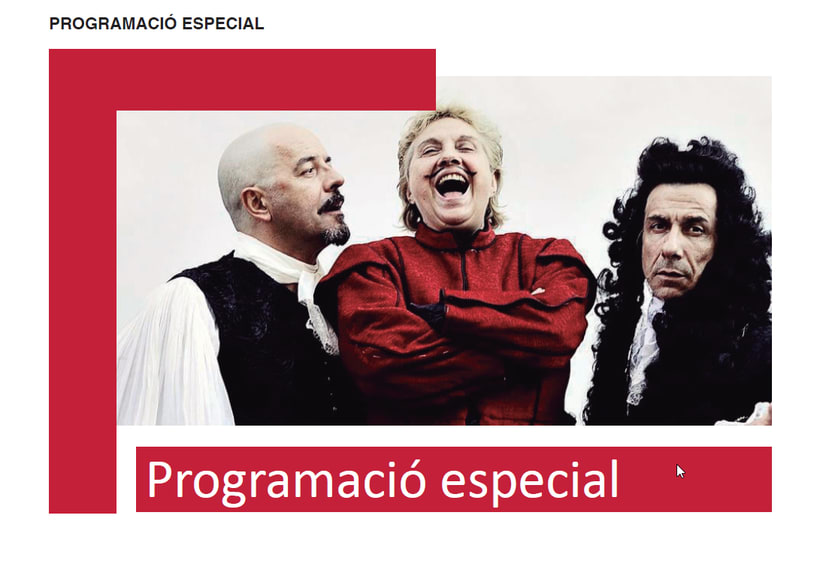 Maquetación/ Indesign/ Teatre LLiure libreto 4