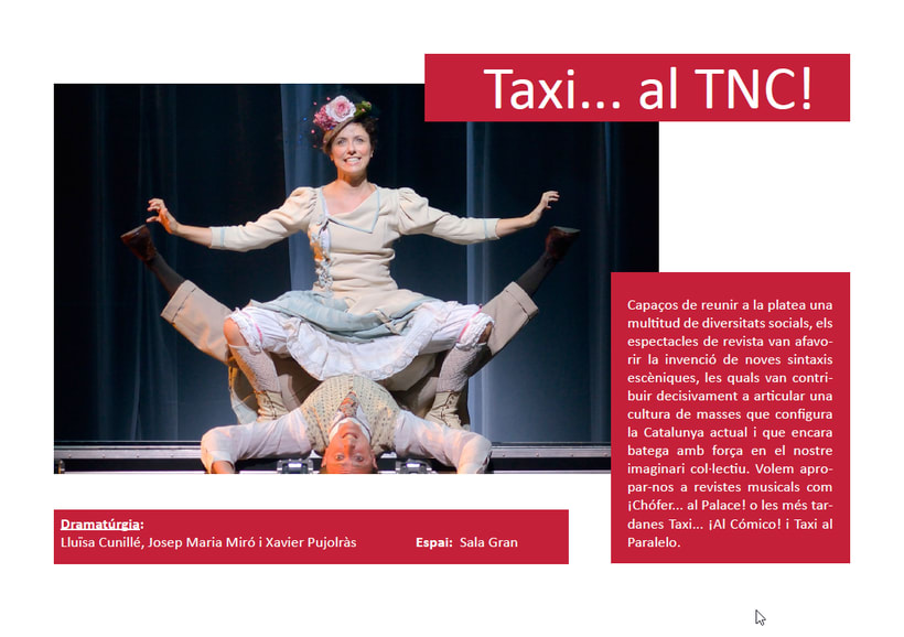 Maquetación/ Indesign/ Teatre LLiure libreto 5