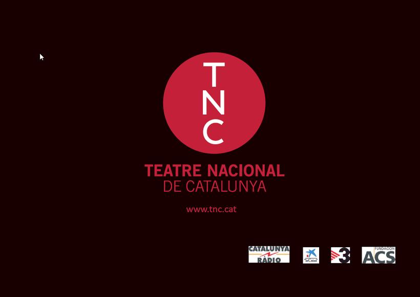 Maquetación/ Indesign/ Teatre LLiure libreto 9