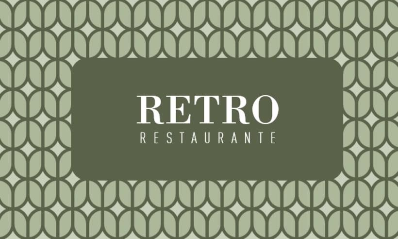 Diseño Mantelería Restaurante 1