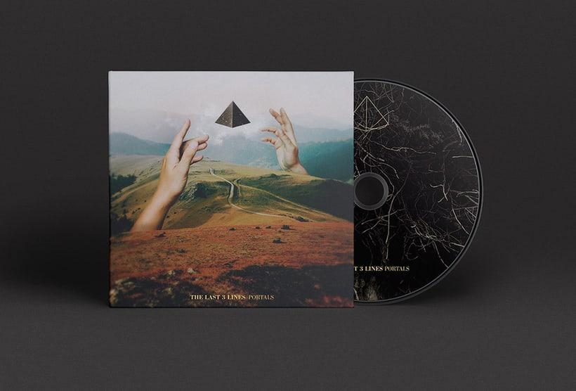 """""""Portals"""" nuevo disco de The last 3 lines 0"""