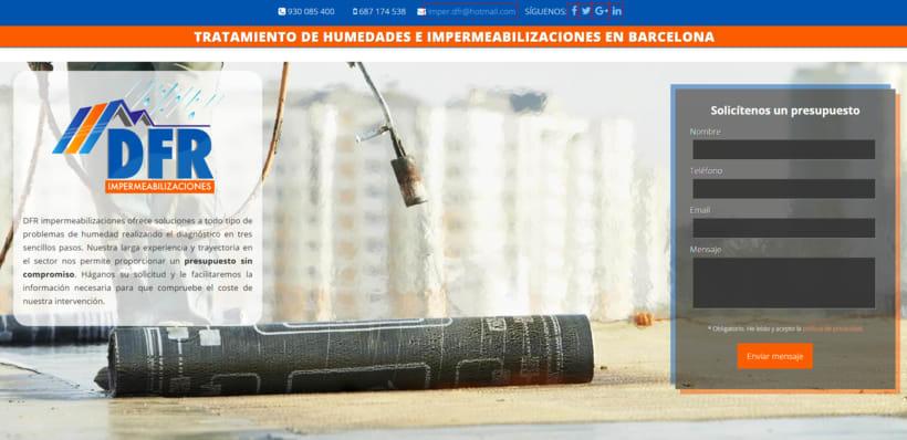 Tratamiento de humedades en Barcelona 0