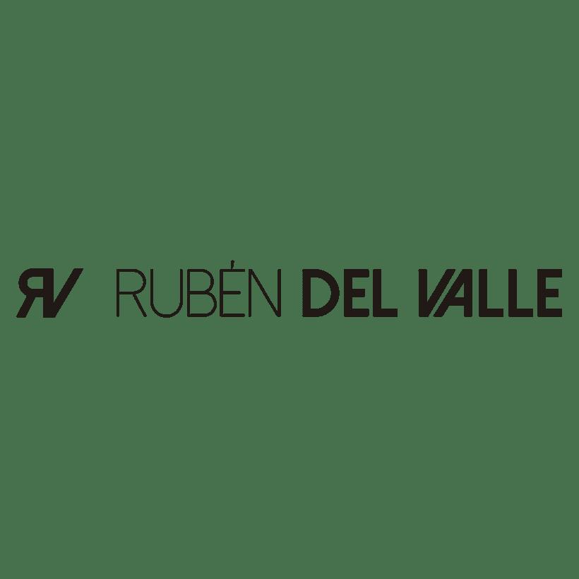 """Diseño de imagotipo """"Rubén del Valle"""" -1"""