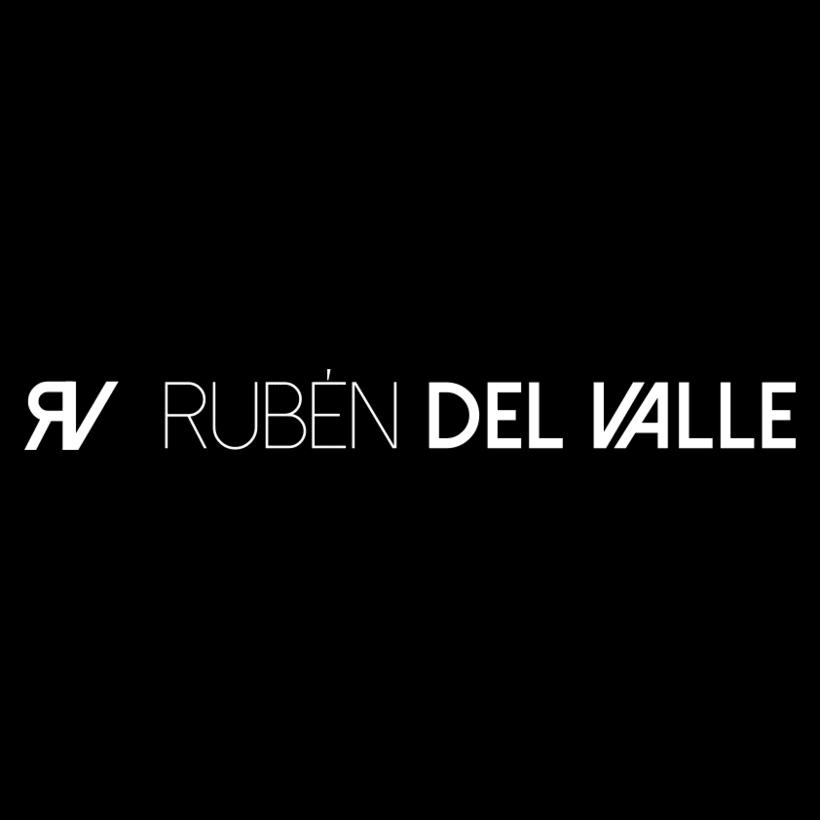 """Diseño de imagotipo """"Rubén del Valle"""" 0"""