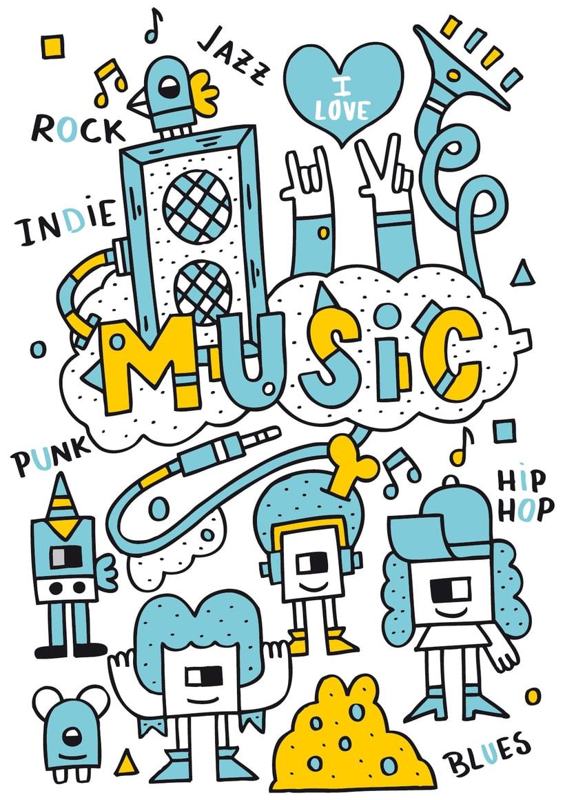 Music -  I Love -1