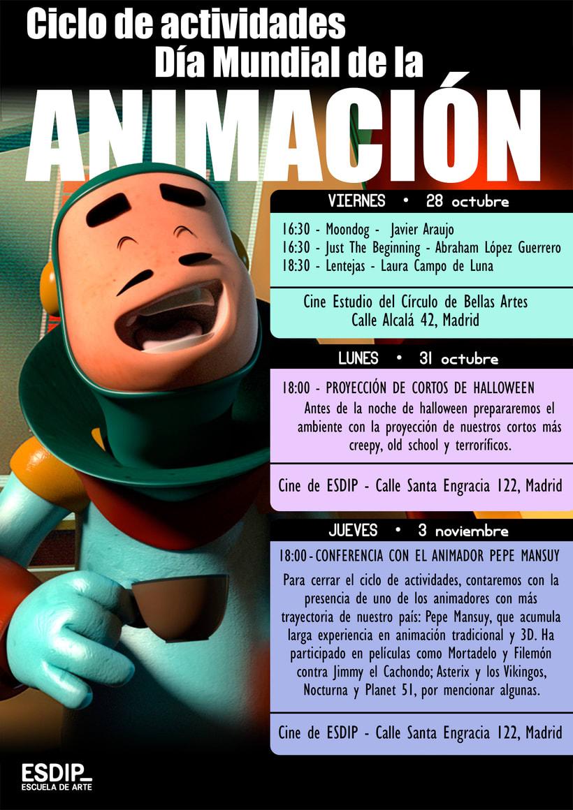 Actividades Gratuítas - Día Mundial de la Animación 2