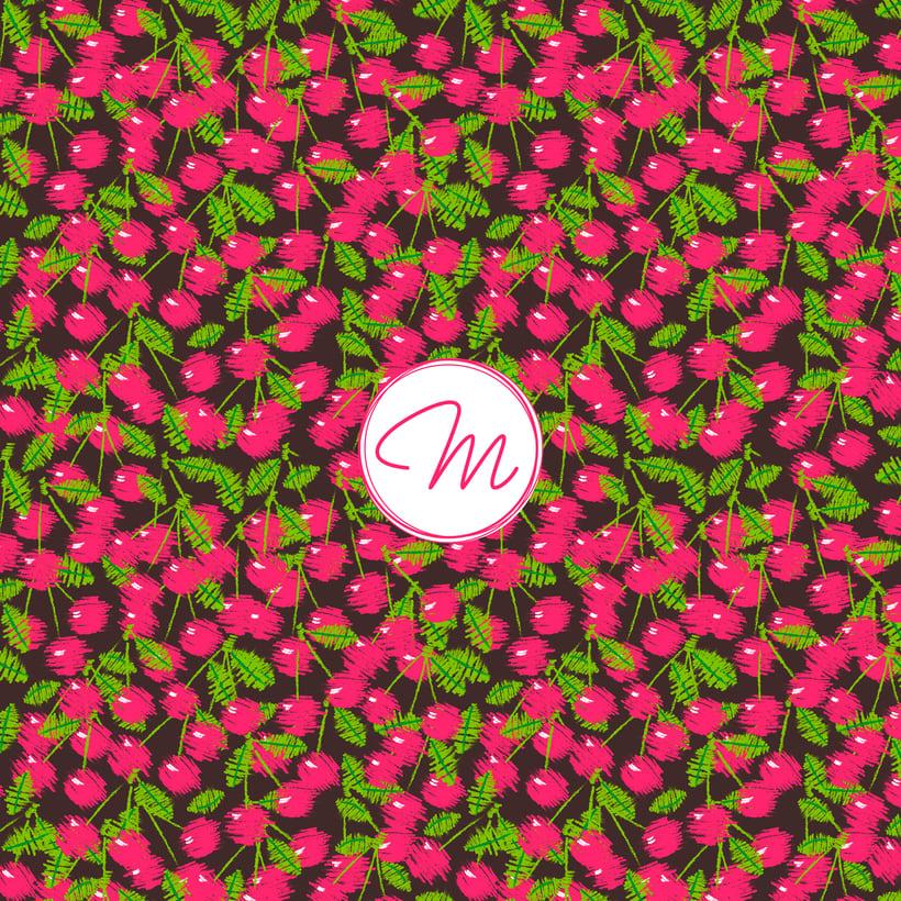 Pink Cherries 3