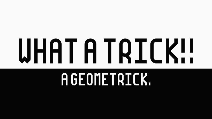 GEOMETRICK - Typography 9
