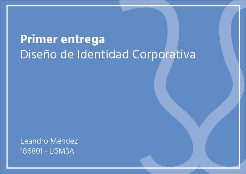Primer Entrega Diseño de Identidad Corporativa 0