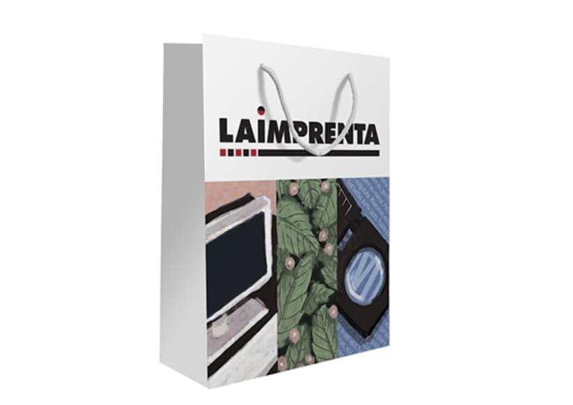 Diseño de bolsa para La Imprenta CG 0