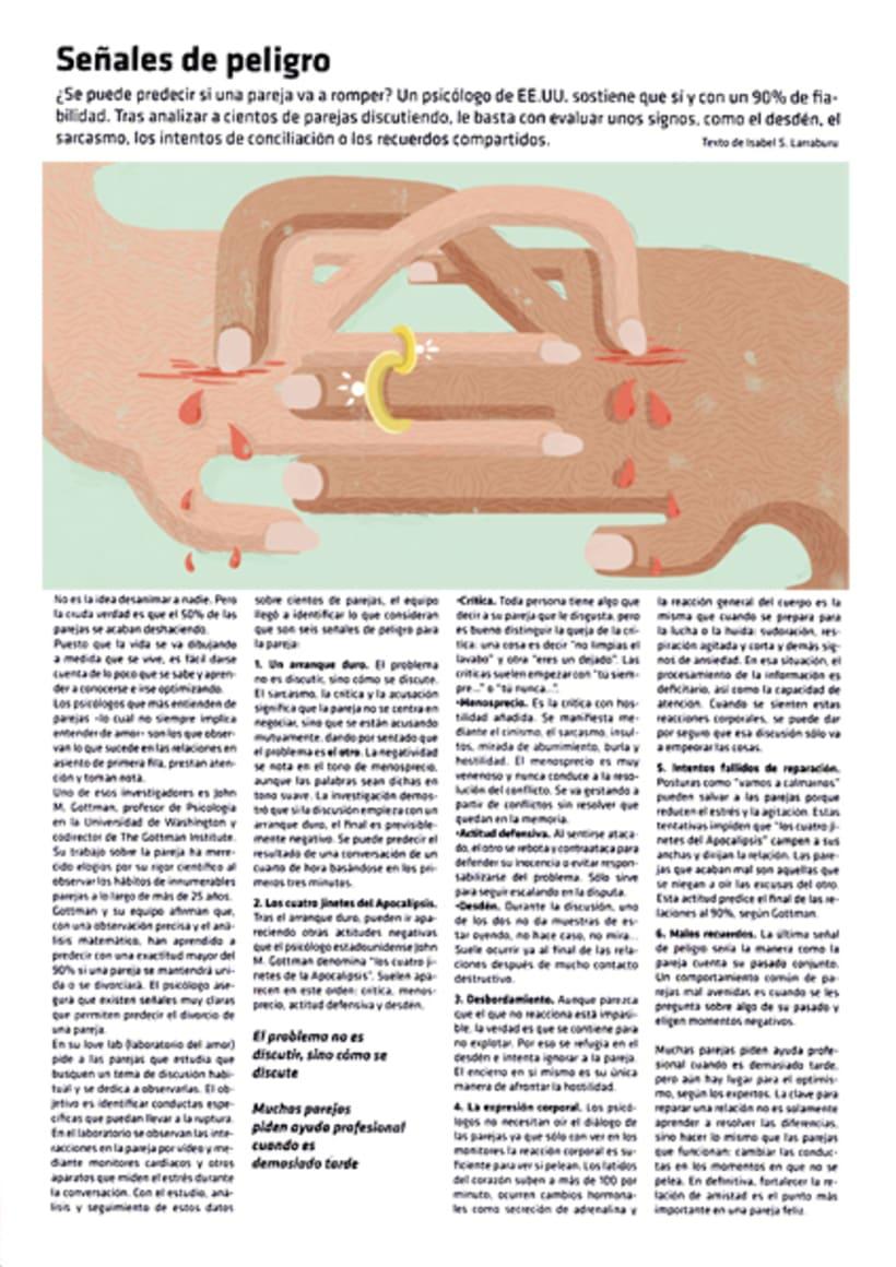 Ilustraciones editoriales para periódicos y revistas -1