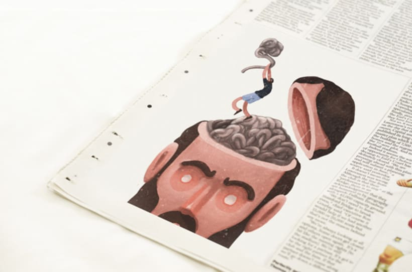 Ilustraciones editoriales para periódicos y revistas 0