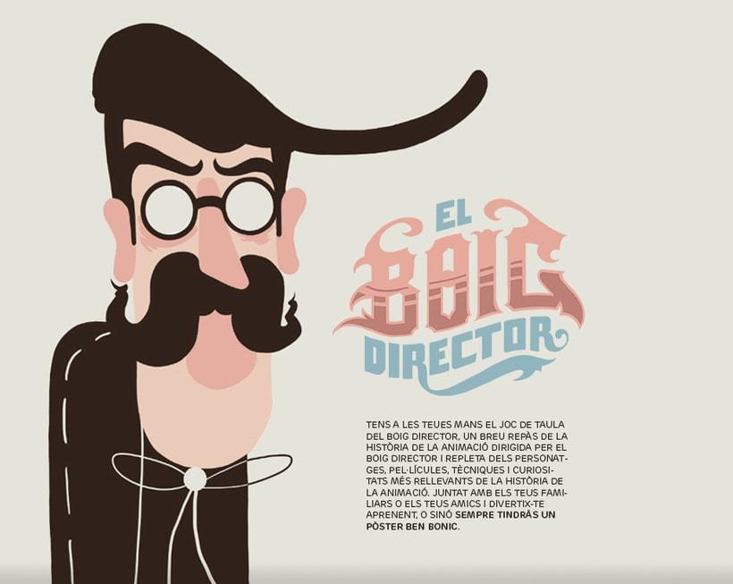 El Boig Director ( juego de mesa sobre la historia de la animación 0