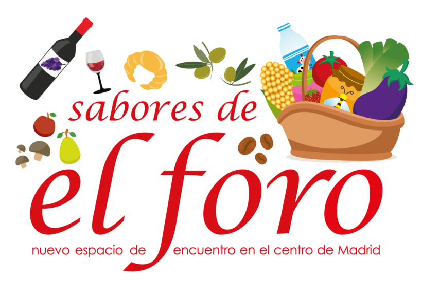 """Banner para cooperativa de alimentos """"Sabores del Foro"""" -1"""