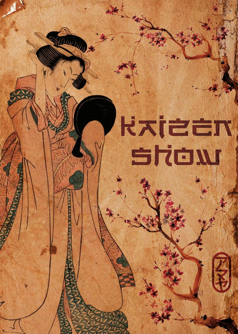 Cartel para evento Kaizen Show (sin marcas) -1