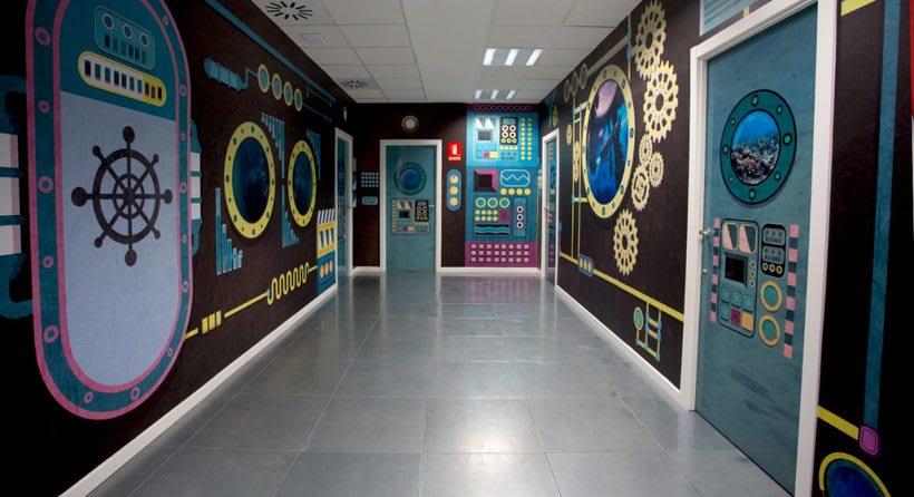Diseño de rótulos para espacios multiusos 2