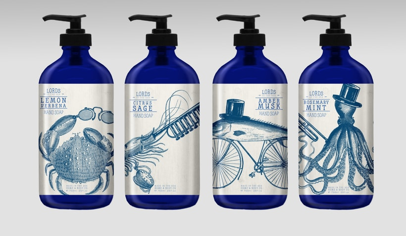 Home & Body Co. Huntington beach - Product, packaging and graphic design. 8