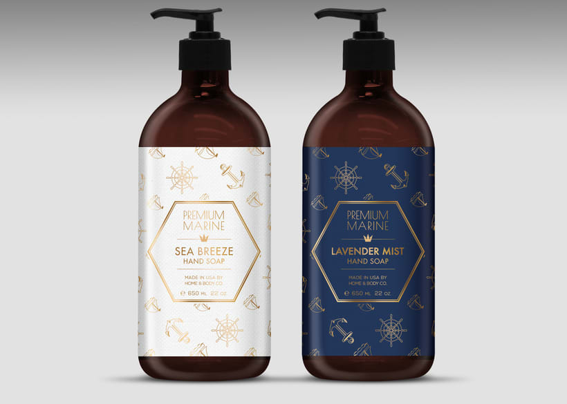 Home & Body Co. Huntington beach - Product, packaging and graphic design. 10