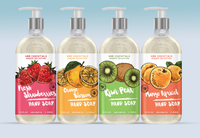 Home & Body Co. Huntington beach - Product, packaging and graphic design. 13