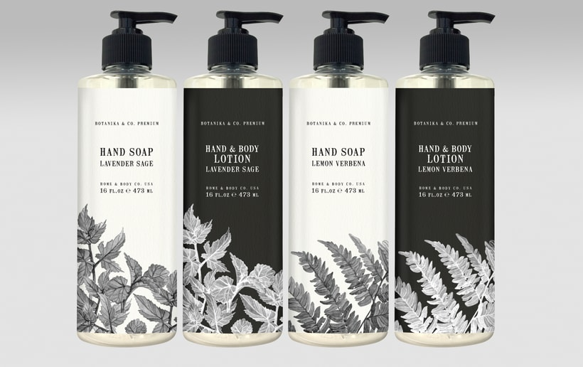 Home & Body Co. Huntington beach - Product, packaging and graphic design. 31