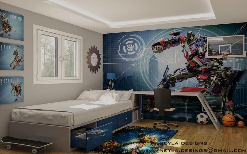 dormitorio transformer 0