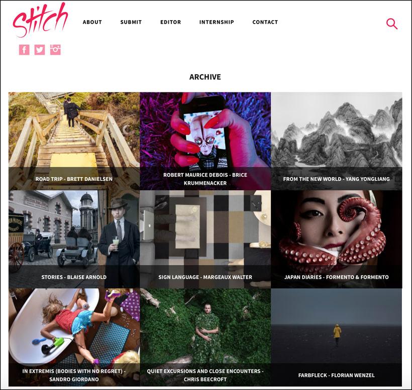 Stitch –Plataforma online de fotografía contemporánea 2