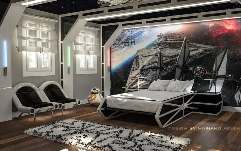 dormitorio star wars -1