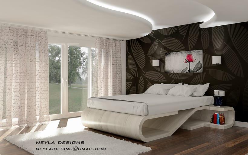 dormitorio gama curve -1