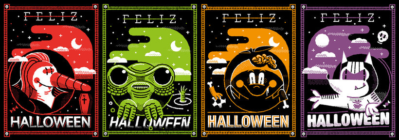 Halloween Miniprints 2