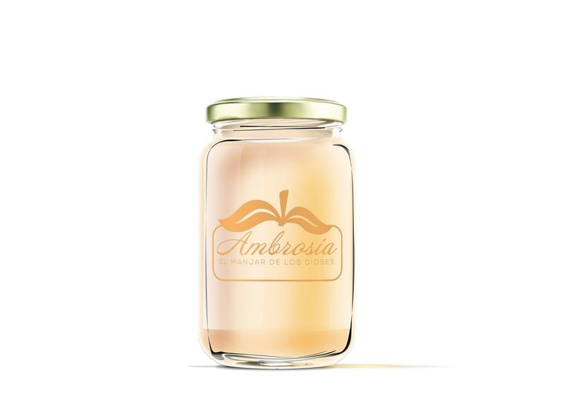 Diseño de etiquetas para marmelada 3