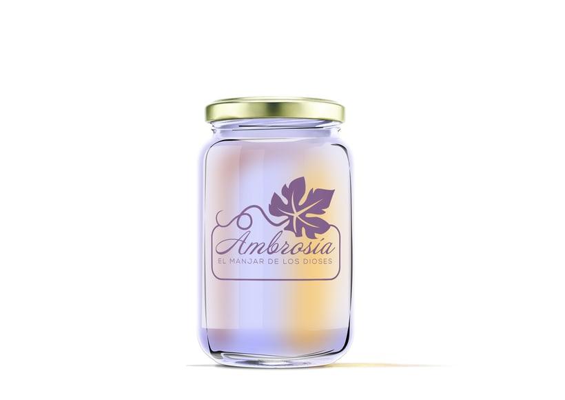 Diseño de etiquetas para marmelada 7