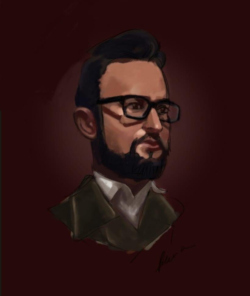 Portraits. 1