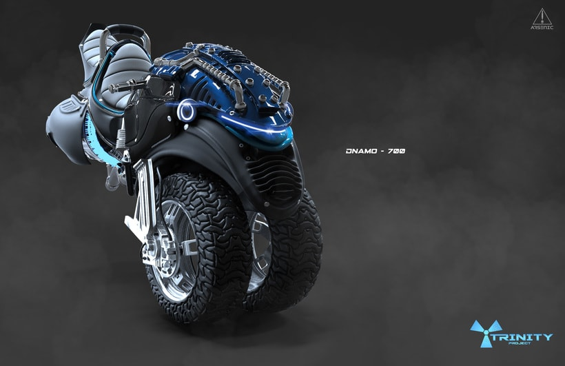 Trinity Project: Dnamo-700 -1