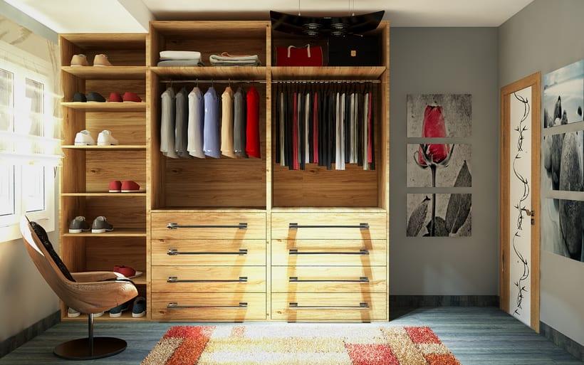 vestidor madera roble -1