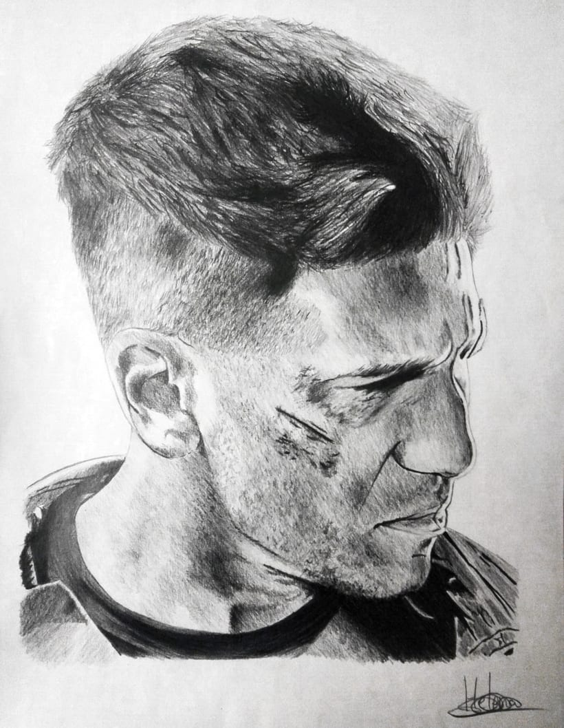 Retrato Jon Bernthal como Punisher (Daredevil) -1