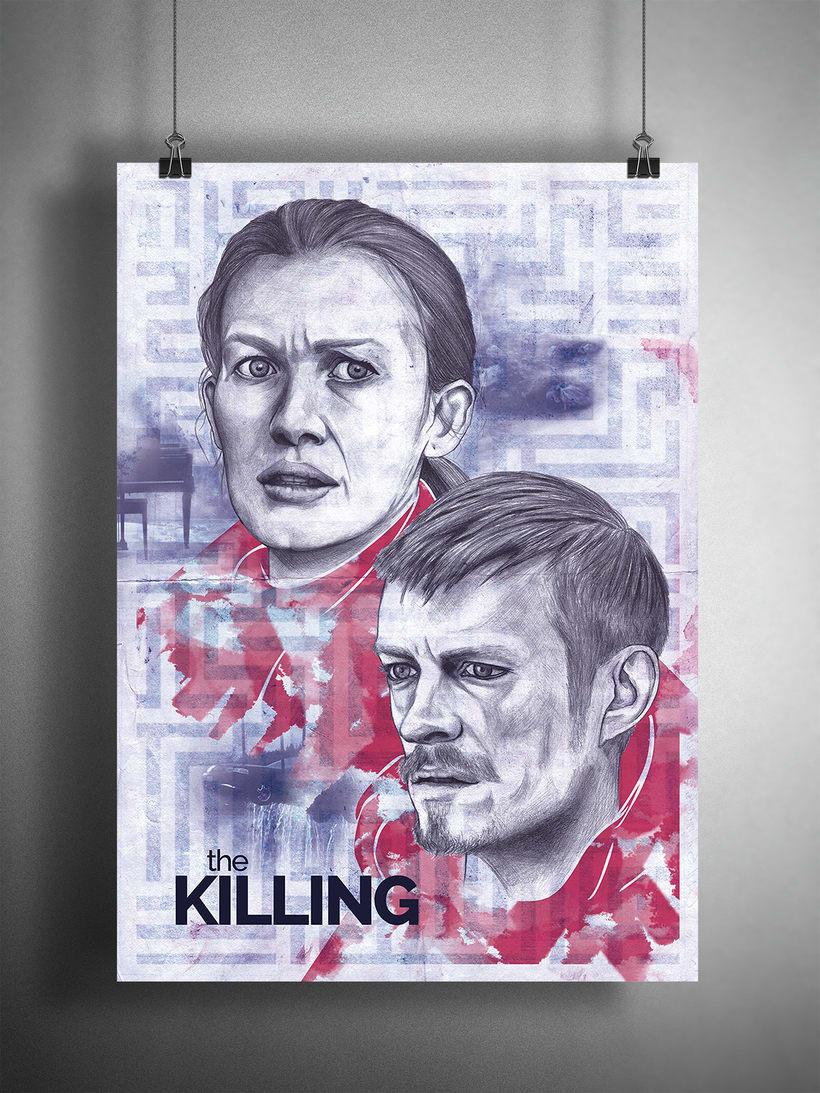 Proyecto curso: Ilustración artística y comercial. THE KILLING 0