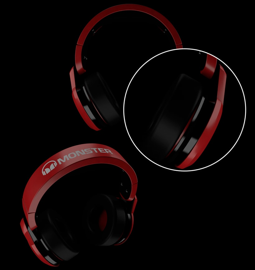 HEADPHONES FROM MONSTER 2