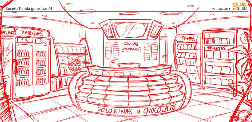 Aperitivos Snack - Ilustración flota furgonetas 1