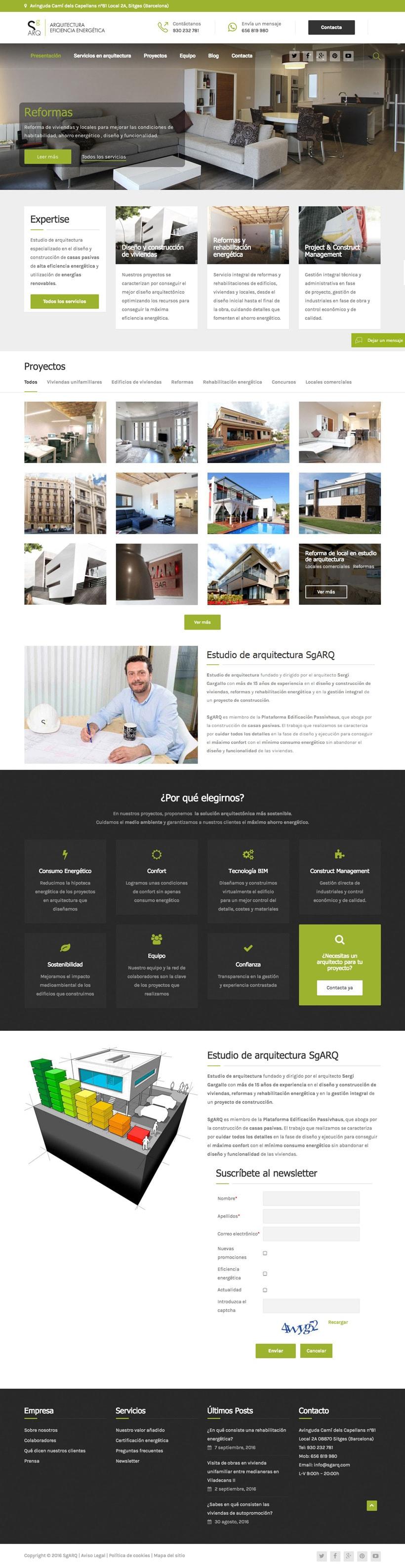 Sgarq | Website 1