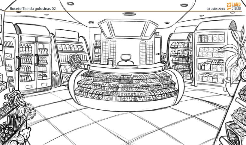 Aperitivos Snack - Ilustración flota furgonetas 2