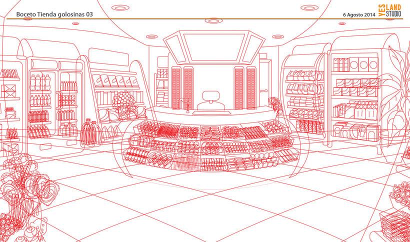 Aperitivos Snack - Ilustración flota furgonetas 3