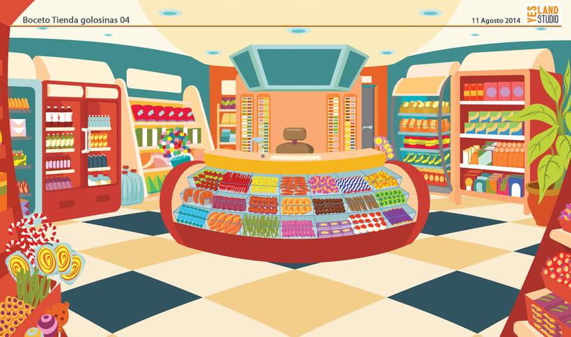Aperitivos Snack - Ilustración flota furgonetas 4