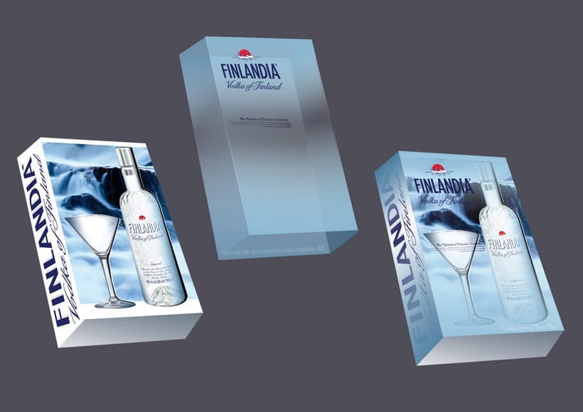 Vodka Findlandia | Packaging  2