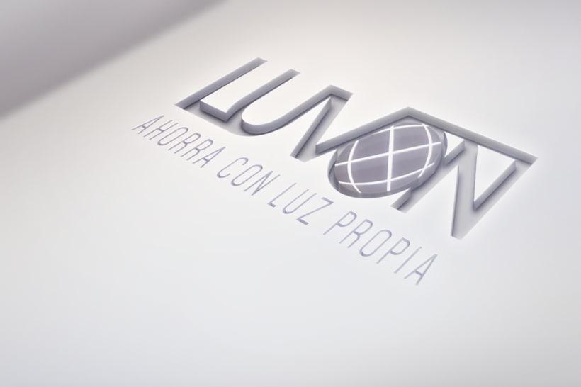 Logotipo- Luvón, compañía de energía 1