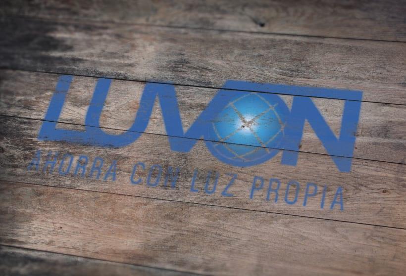Logotipo- Luvón, compañía de energía 2