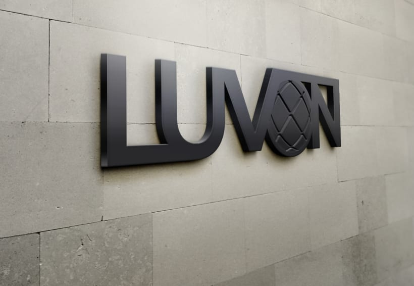 Logotipo- Luvón, compañía de energía 3