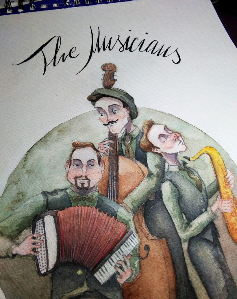 The Musicians 0