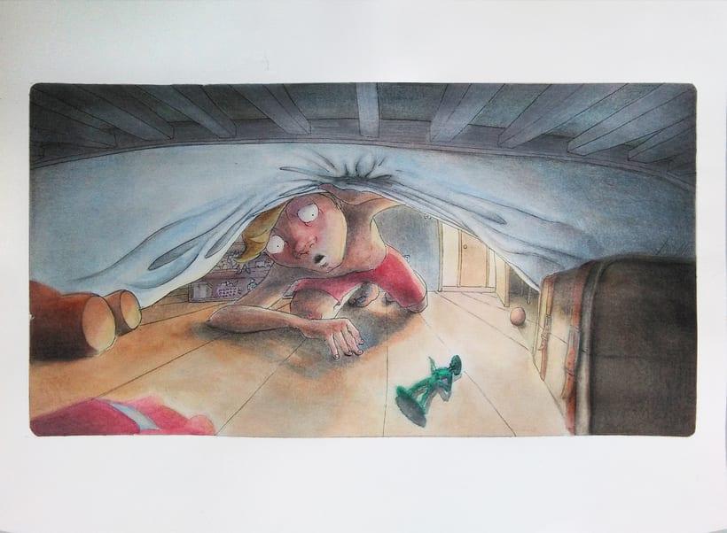 Bajo la cama... -1